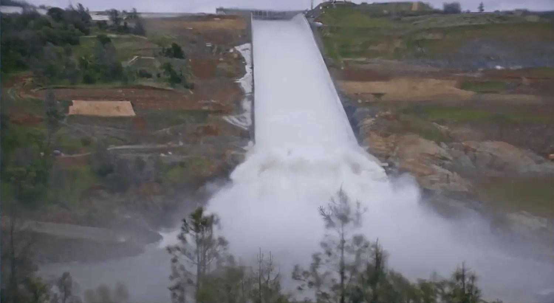 DWR Prepares to Use Brand-New Oroville Dam Spillway Next Week