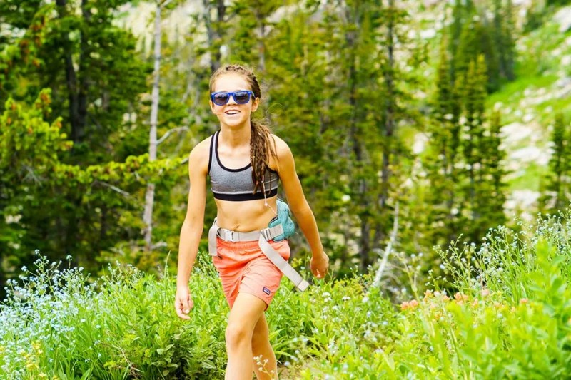 Young adventurer on the trail in the Wasatch Mountains in Utah. Photo © Michael DeYoung