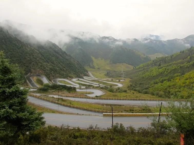 Tibet Road Trip to Huzhu Beishan Park Sichuan-Tibet Highway, China