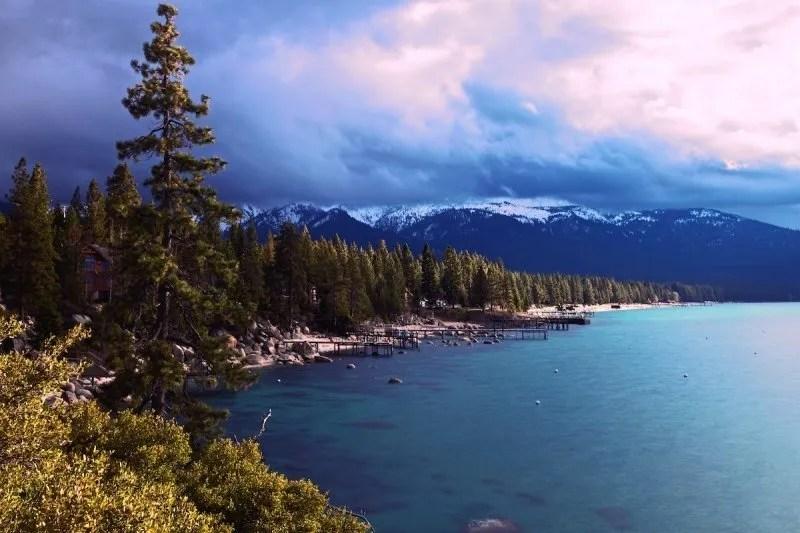Paddleboarding Lake Tahoe Nevada