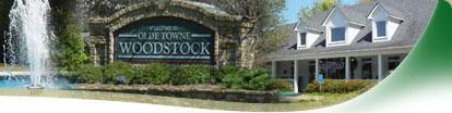 Woodstock GA downtown homes