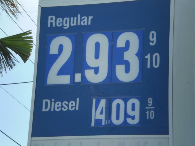 Gas Prices Going Down, Down, Down