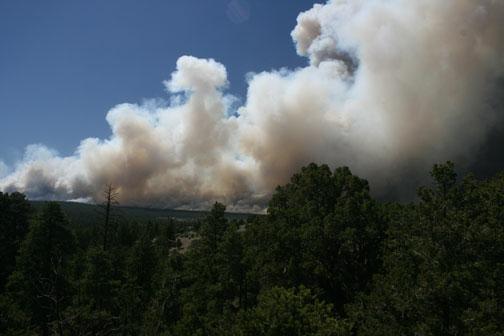 Shultz Fire - Flagstaff Arizona
