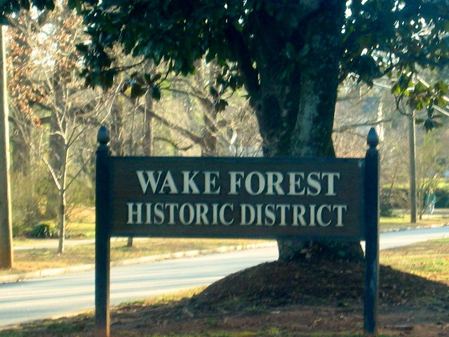 Wake Forest NC Historic District