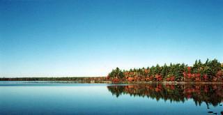 Ten-Mile-lake photo in fall
