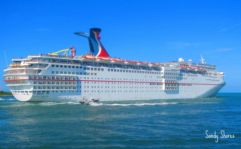 Watch the Cruise Ships Set Sale, Carnival Cruise Lines, Port Canaveral