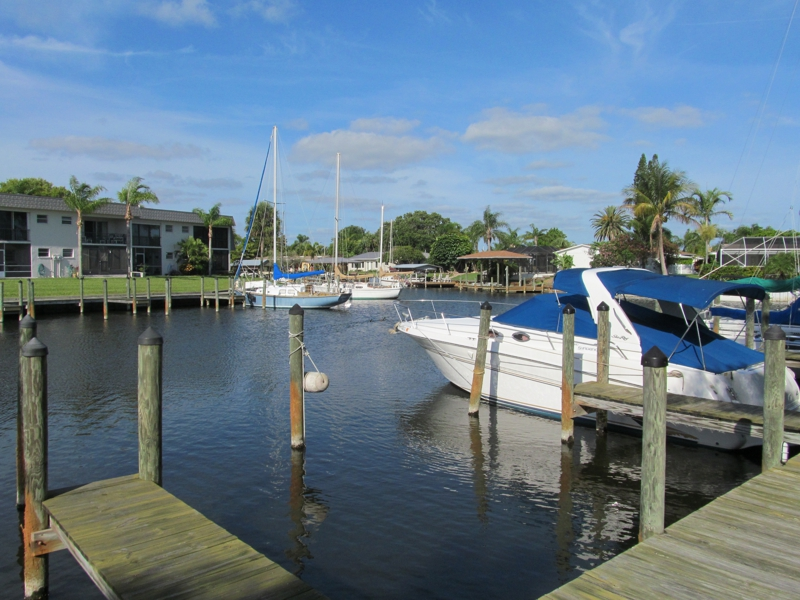 Satellite Beach Condo on Navigable Canal by Sandy Shores Mebourne FL Broker Associate