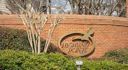 Photo of Highland Pointe entrance
