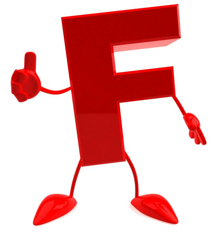 The letter F