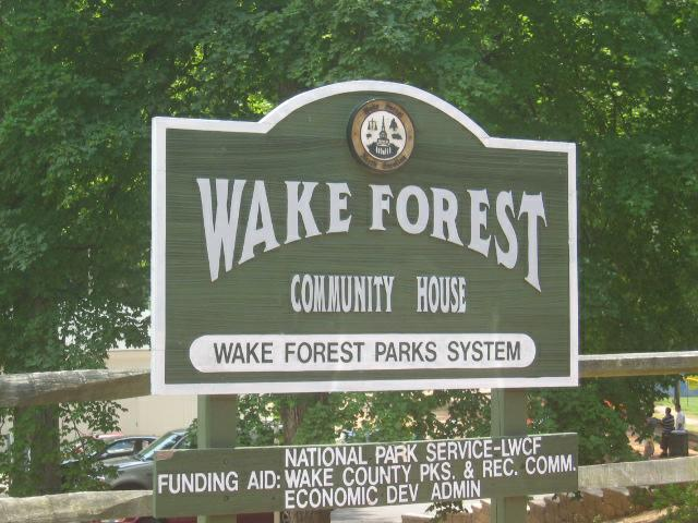 Wake Forest NC Parks and Recreation Swim Lessons