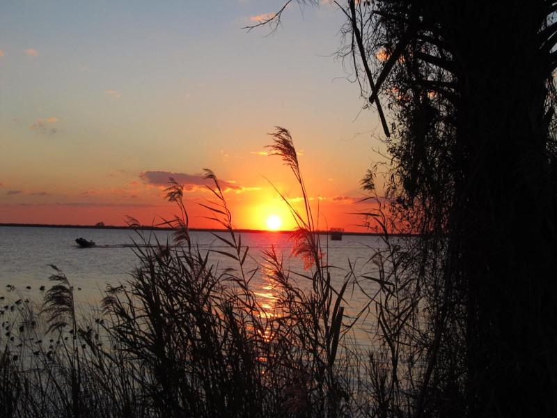 Lake Washington, Melbourne FL Sunset by Sandy Shores