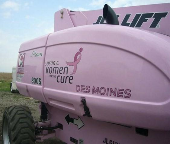 Kobelco builds a machine to help the fight against breast cancer
