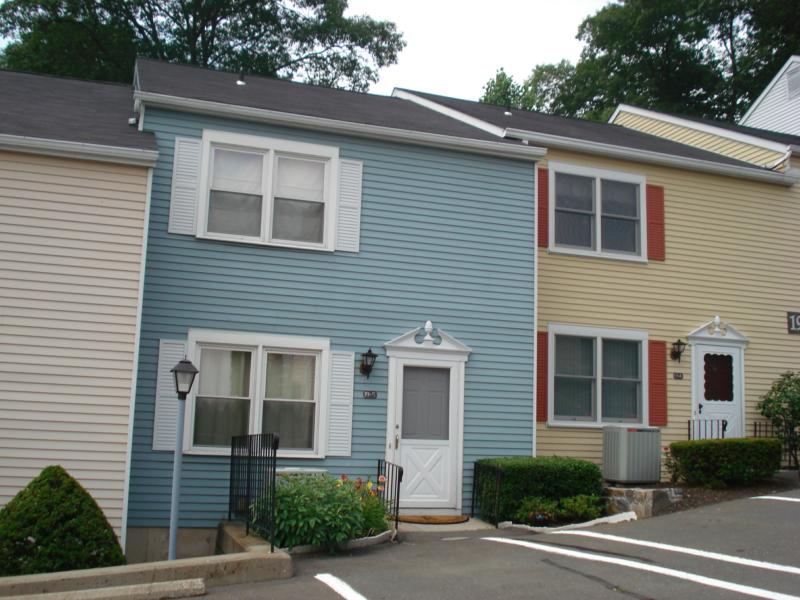 Some of the townhouse style units