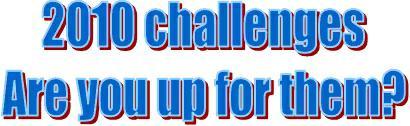 2010 challenges