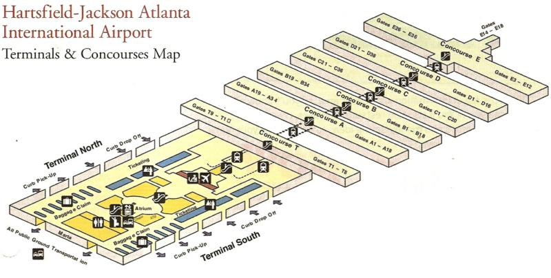Atlanta Airport Runway Diagram