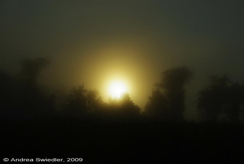 Sunrise over New Milford
