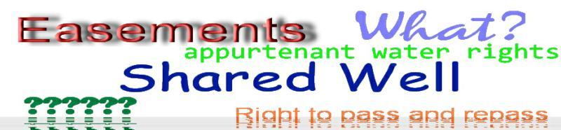 Easements everywhere