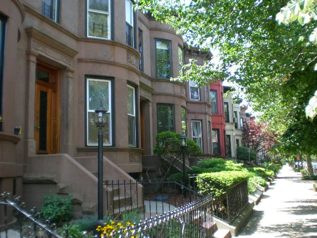 flatbush attached brownstones