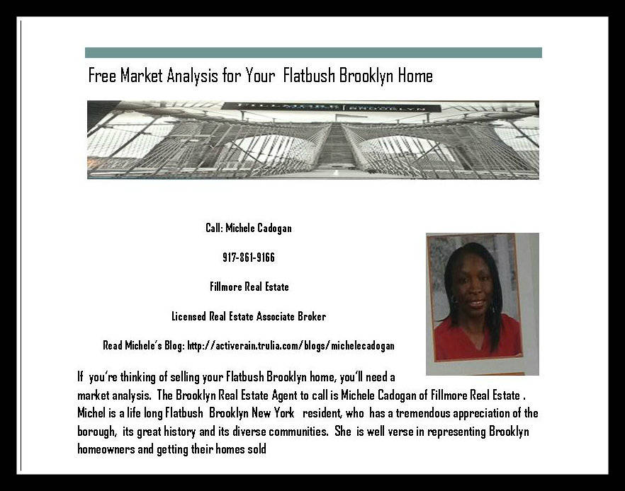 How much is my brooklyn home worth, free market analysis for my brooklyn home