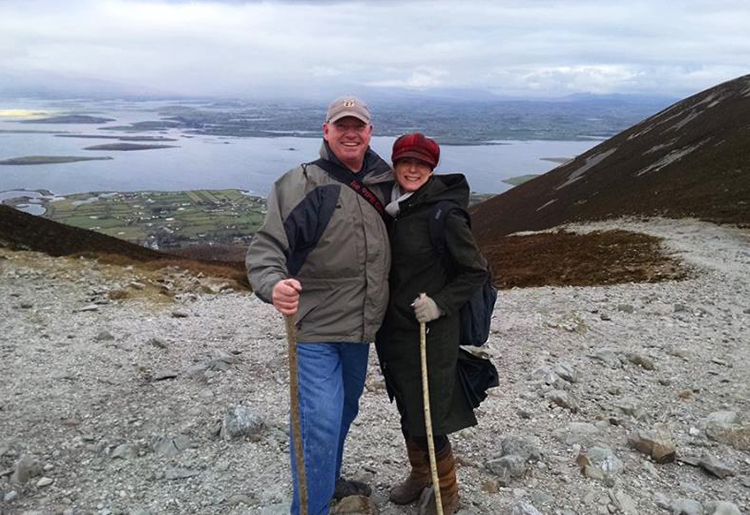 Will and Stacey Croagh Patrick