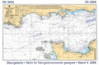 Seekarte 2656 für Ihren SSS Theorie Wochenendkurs Nürnberg