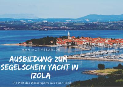 Manövertraining in der Marina Izola Adria
