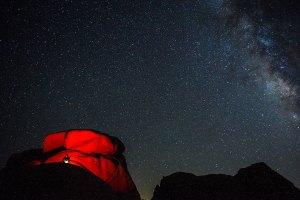 Stargazing Joshua Tree