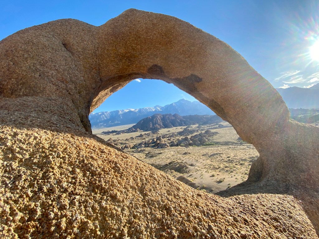 Eye of the Alabama Hills Arch