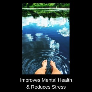 improves mental health and reduces stress