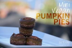 Mini Vegan Pumpkin Pies