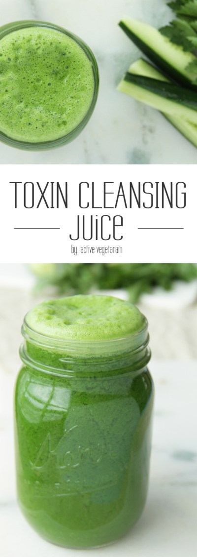 Check out this green juice recipe for detox