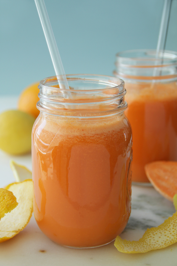 Check out this tasty juice recipe that's good for the eyes