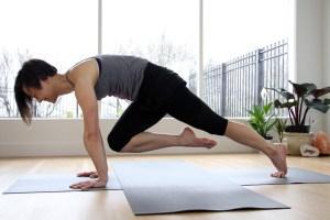 plank challenge active vegetarian