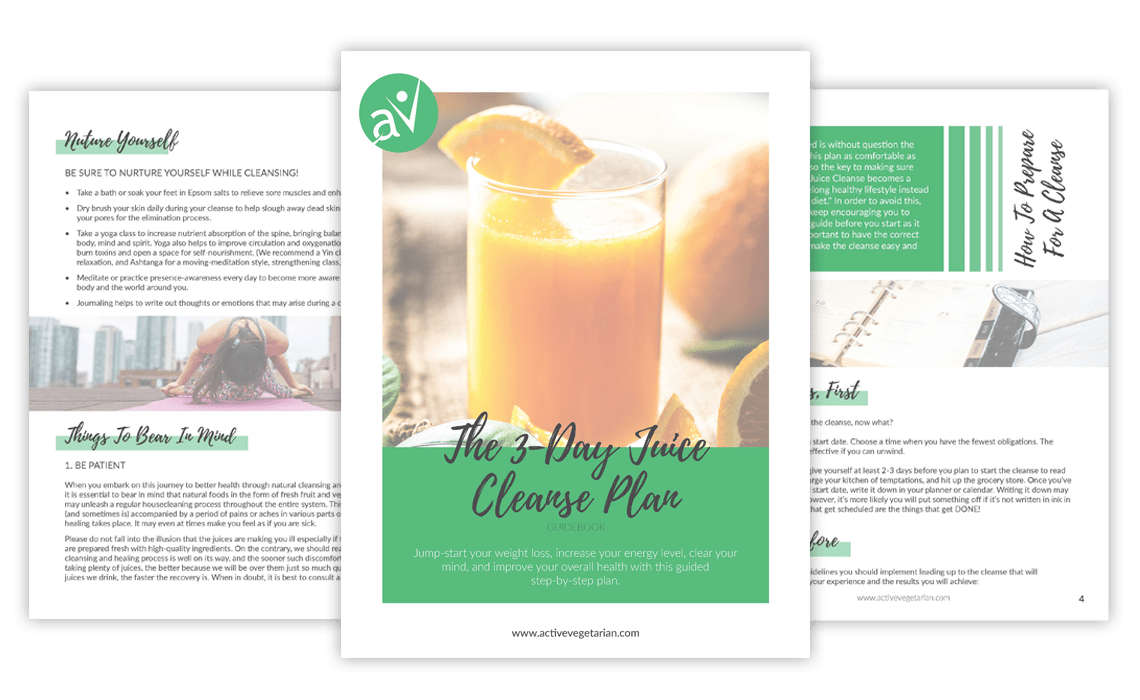 tips and benefit for 3 day juice cleanse example