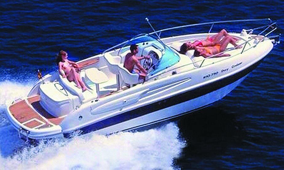 Yacht rental in Torrevieja Cabo Roig Campoamor