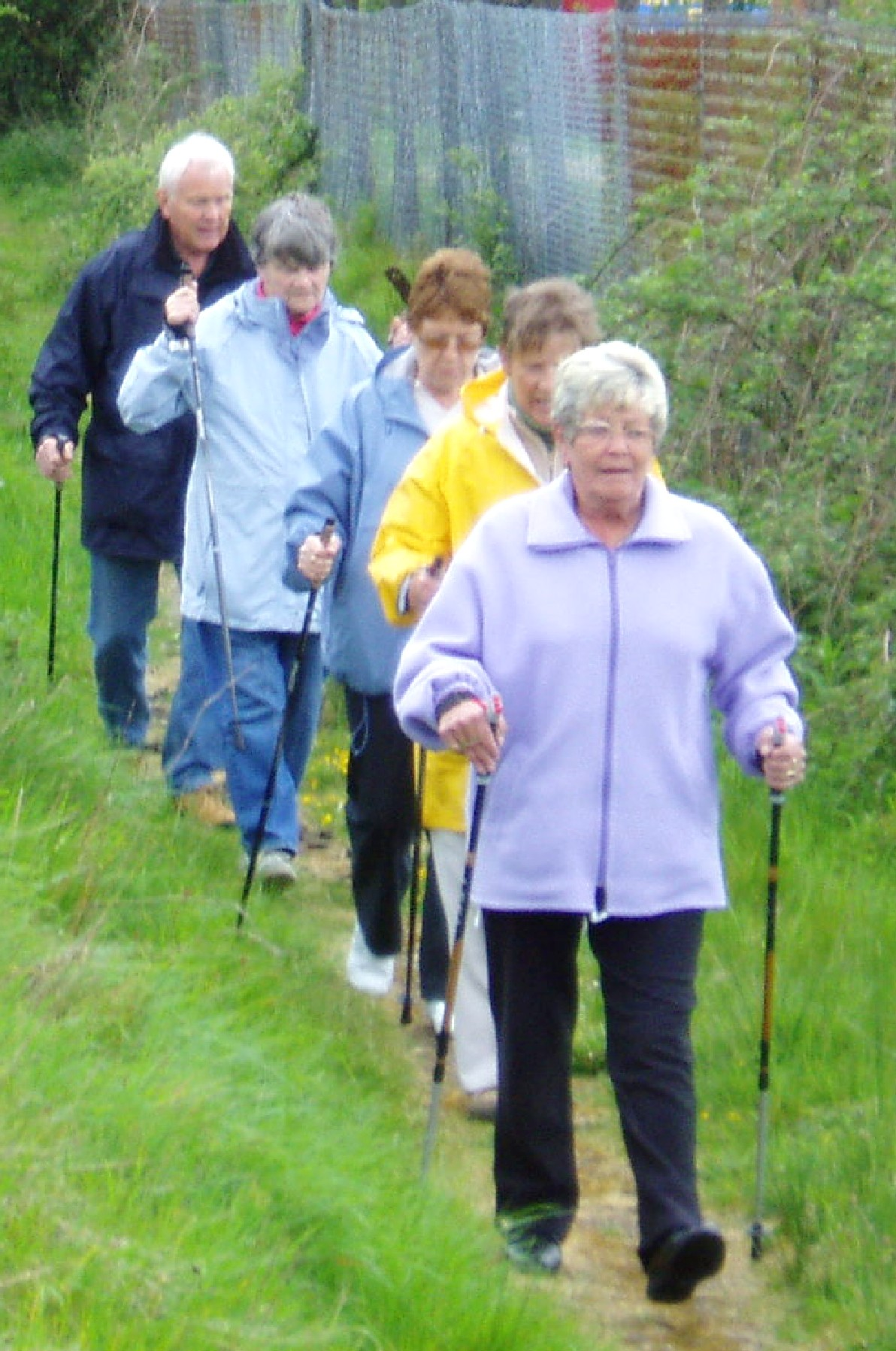 Exercising With Walking Poles