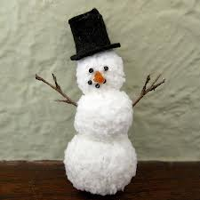Winter Crafts For Seniors Yarn Snowman Activities For