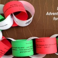 Advent Calendar Paper Chain