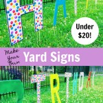 The Activity Mom Inexpensive Diy Yard Signs The Activity Mom