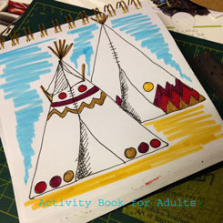 triangle tepee