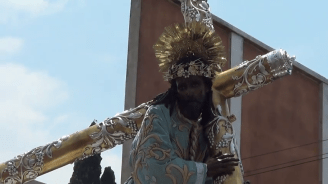 Procesion Jesus de los Milagros 2014, San Jose (26)