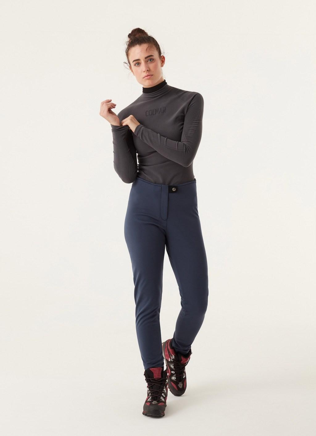 Pantaloni de ski Colmar Softshell Blue marine