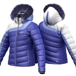 Geaca de ski Colmar Olimpia albastru 2834F-104
