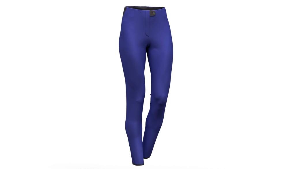 Pantaloni de ski Colmar Softshell albastru 0267-104