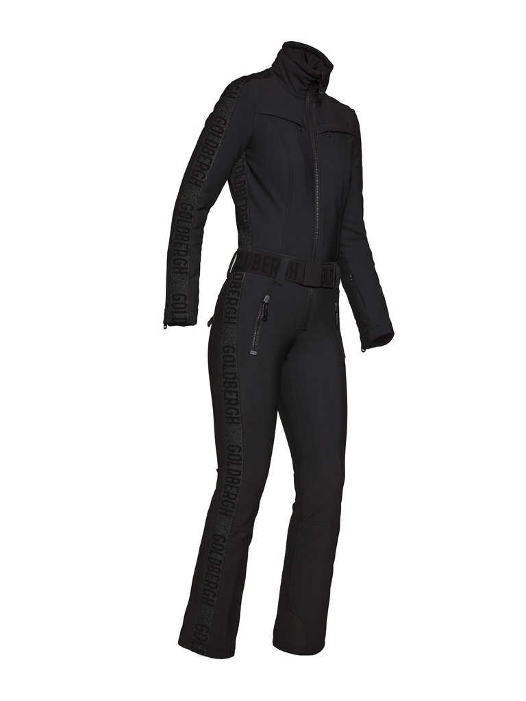 Costum de ski Goldbergh Damă Goldfinger Negru GB1691204-900