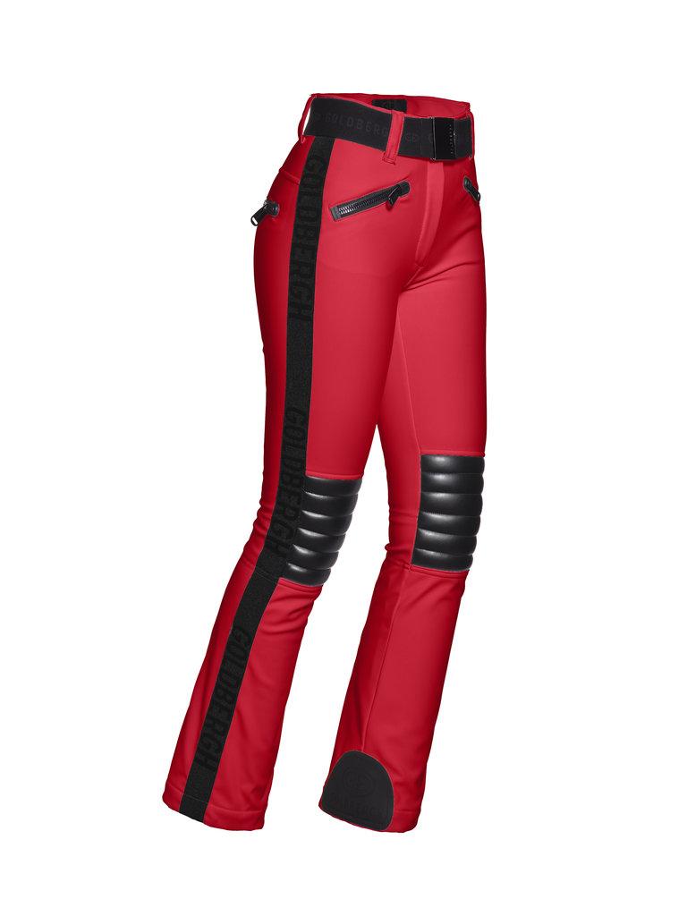 Pantaloni de ski Goldbergh Damă Rocky Roșu GB1674204-459
