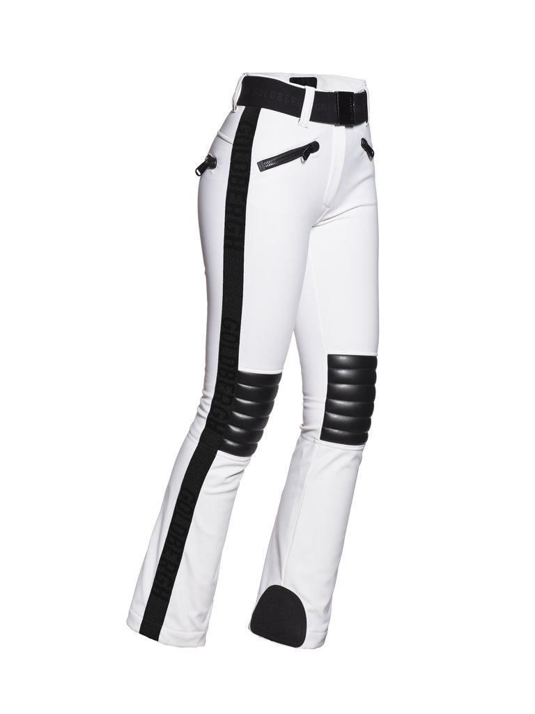 Pantaloni de ski Goldbergh Damă Rocky Alb GB1674204-800