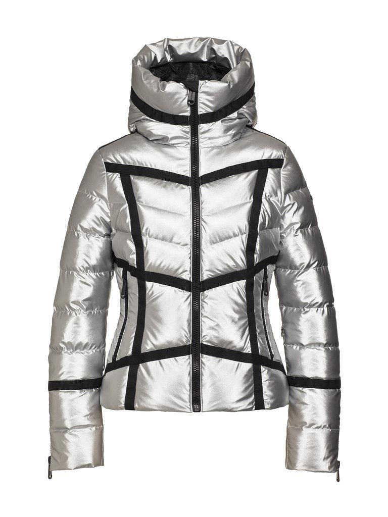 Geacă de ski Goldbergh Damă Mirror Argintiu GB1010204-910