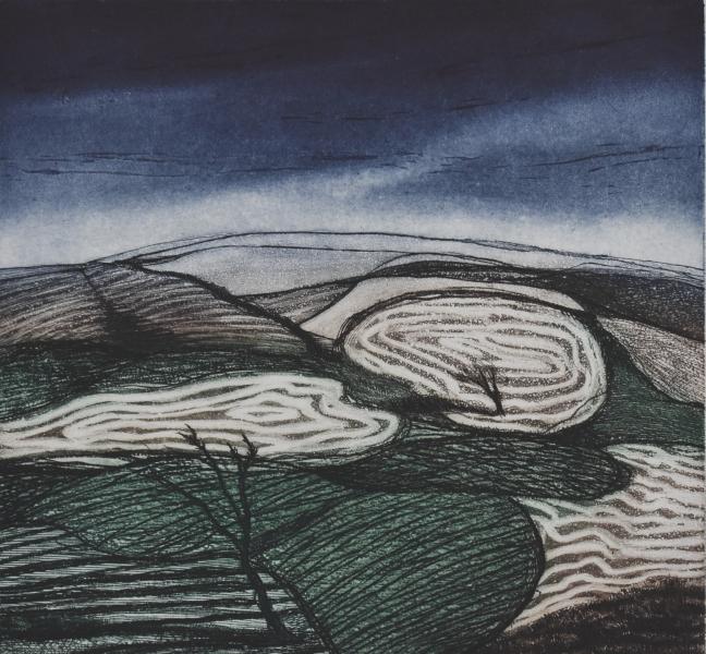 14-Paysage nocturne- gravure- 43X39 1920 72 dpi