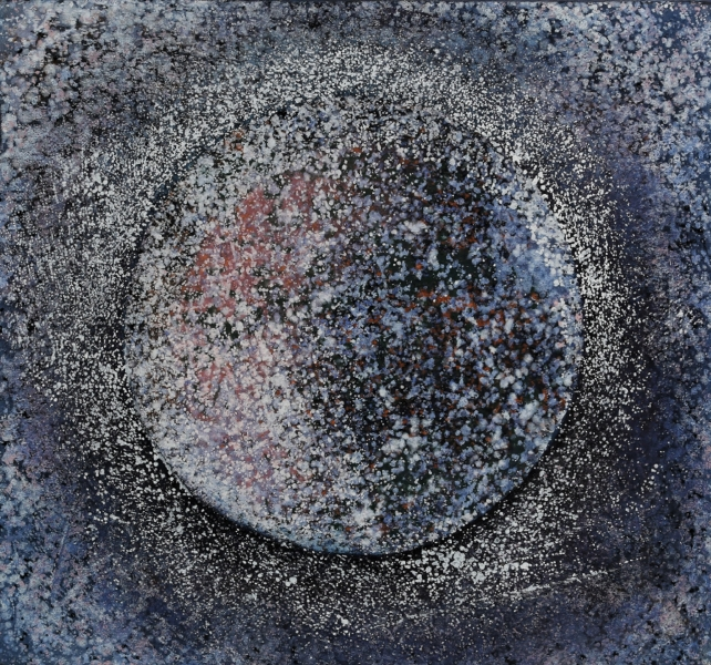 Espace lunaire, acrylique sur toile, 59x63,5 cm, 2016 1920 90 dpi